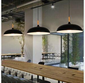 3X Black Pendant Lighting Bar Lamp Kitchen Pendant Light Bedroom Ceiling Lights