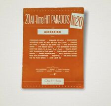 20 All Time Hit Parades No 20 for Accordian Dont Be Cruel Vtg 1956