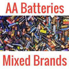 Mixed Brands Aa Alkaline Batteries Bulk Wholesale Lot
