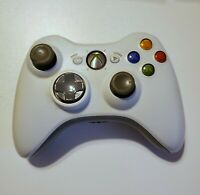 Microsoft B4F-00014 Xbox 360 Wireless Controller - White WC01 Normal Wear Tested