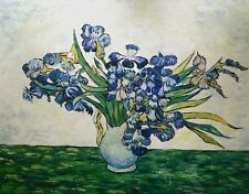 Bouquet d'iris Oil Painting Reproduction Rolled Canvas by Vincent van Gogh