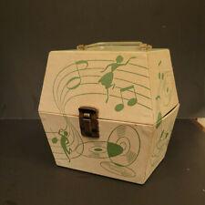 "1960s Capitol Records 7"" 45 Vinyl Travel Storage Case Hexagon Platter Pak 7250"