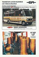 EA E. Auwärter teamstar LUSSO-perché prospetto 81 Bus