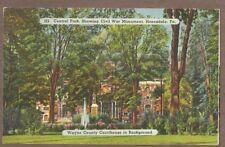 Vintage Postcard 1943 Wayne County Courthouse, Honesdale Pennsylvania