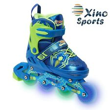 Xino Sports Adjustable Inline Skates - for Growing Girls and Boys, Featuring .