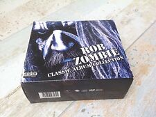 Rob Zombie - Classic Album Collection limited ed 4 CDs/DVD box set WHITE ZOMBIE