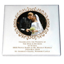 HRH Prince Harry & Ms Meghan Markle Wedding Day Kiss - Ceramic Fridge Magnet