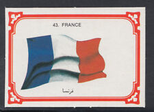 Monty Gum 1980 Flags Cards - Card No 43 - France  (T613)