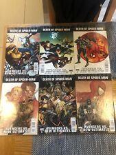 Marvel Comics DEATH OF SPIDER-MAN AVENGERS VS NEW ULTIMATES #1-6 Complete Set