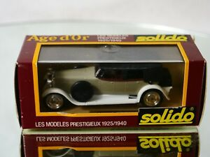 Solido Age d'Or - n° 1162 Hispano Suiza - 1/43  neuf en boite /boxed