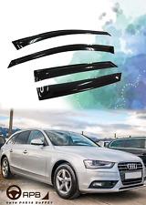 For Audi A4 B8 2008-2015 Hatchback Guard Vent Weather Shield Window Visors