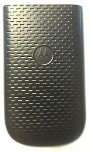 New Motorola ROKR EM35 Back Cover Battery Door Replacement Black SHN1292A Oem