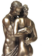 Lovers Pair Figure Sculpture with Cold bronze coating 20078A