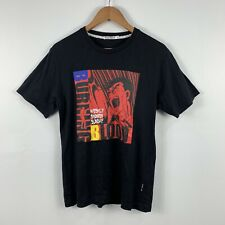 Uniqlo X Burning Blood Anime T Shirt Asian Size Medium (US Small) RARE