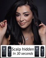 Hide your scalp in 30 Seconds - Hair loss concealer - Dark Brown Hair Fibres 23g