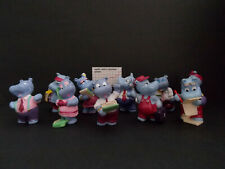 Lot Série Complète Kinder 10 Happy Hippo Company Allemagne 1994 +1 BPZ