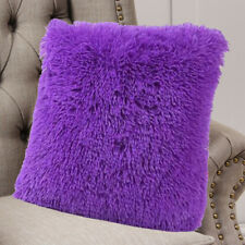 Soft Fluffy Plush Square Cushions Cover Pillow Case Sofa Car Throw Home Decor