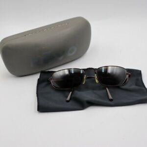 Revo P H2O 9003 093/J4 Polarized Brown Wire Sunglasses With Case