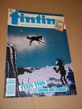 """MAGAZINE """"TINTIN, no 644"""" (1988) YVAIN ET YVON / CLIFTON / VASCO / RORK"""