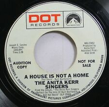 Pop Promo 45 The Anita Kerr Singers - A House Is Not A Home / A House Is Not A H