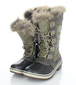 56-66 NEW $170 Women's Sz 7 M Sorel Tofino II Leather Waterproof Insulated Boots