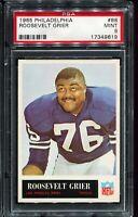 1965 Philadelphia Football #88 ROOSEVELT GRIER Los Angeles Rams PSA 9 MINT
