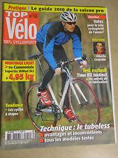 TOP VELO N°155: FEVRIER 2010: MONTAGE LIGHT 4.95kg - ALBERTO CONTADOR - TIME RX