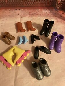 Barbie Doll Shoe Lot - 9 Pairs - Vintage Great Pre-owned Condition. Fast Ship🎁