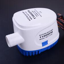 12V Automatikbilgepumpe 1100GPH Bilgepumpe Automatik Bilgenpumpe Durable