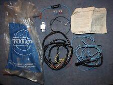 Volvo 140 164 242 240 264 Kabel Scheinwerfer Einbausatz lights cable kit NOS
