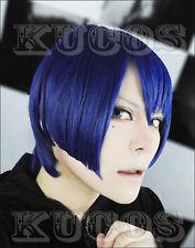 Anime Uta no Prince Sama HIjirikawa Masato Heat Resistant Blue Cosplay Wig E101