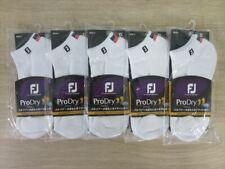Golf Socks Foot Joy Socks USWT Men's 5pairs 25-27cm White
