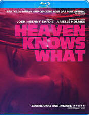 Heaven Knows What Blu-ray Arielle Holmes Brand New Sealed