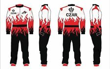 Sublimation printing Go Kart Race Suit 2018 style