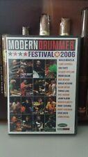 MODERN DRUMMER FESTIVAL 2006 Schlagzeug Drum 4 DVD´s