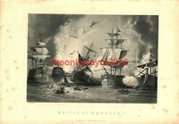 Battle of Navarino, Book Illustration (Print), c1890