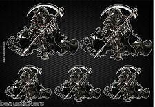 Stickers autocollants Moto Bikers casque réservoir Reaper 2512