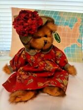 "Bearington Bears ""Meg"" 14"" Collector Bear- #1501 Euc"