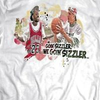WHITE MEN CANT JUMP BILLY HO *WE GOIN SIZZLER* RARE DESIGN T-Shirt *MANY OPTIONS