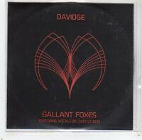 (GC783) Davidge, Gallant Foxes ft Cate Le Bon - 2013 DJ CD