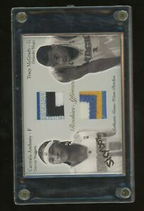 2003-04 Skybox Autographics Carmelo Anthony Tracy McGrady Dual Patch /50