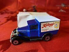 Matchbox Diecast Model A Ford Van - Kellogg's Corn Flakes