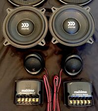 "MAXIMO 5 MOREL 5.25"" 2-WAY PRO CAR COMPONENT SPEAKERS ***SHIPPED FREE"