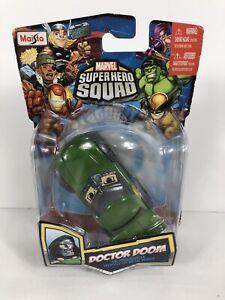 Doctor Doom Diecast Car Maisto Vehicle Marvel Super Hero Squad Damaged Package