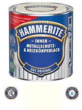 0 5 L Hammerite metallo protezione Vernice e Termosifone interno CREMEWEISS Mat