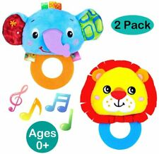 Baby Rattles Toys Newborns Toys Hand Bells Teether Music Hand Shake Bed Bell