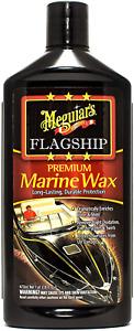 Meguiar's Marine RV 63 Flagship Premium Marine Wax M6316 473ml Long lasting