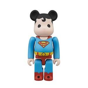 2013 SDCC DC SUPERMAN 100% BEARBRICK FIGURE MEDICOM  SUPER POWERS NEW SEALED