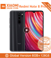 Xiaomi Redmi Note 8 Pro Smartphone Global 6GB + 128GB Handy Mineral Grey EU
