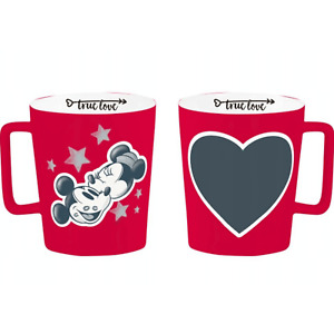 Disney Mug Mickey Minnie Mouse with CHALK GIFT IDEA Collectable Limited Edition